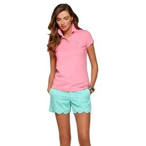 Lilly Pulitzer Pique Polo Shirt S